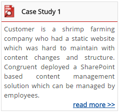 SharePoint Partner Case Study 1